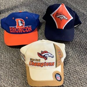 Broncos NFL Hat Set